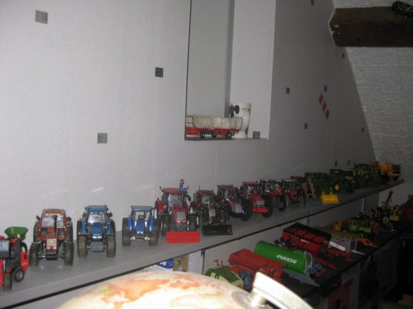 ma collection de tracteur miniature agricole