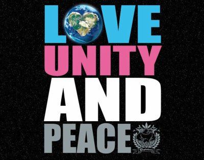 LOVE UNITY  AND PEACE