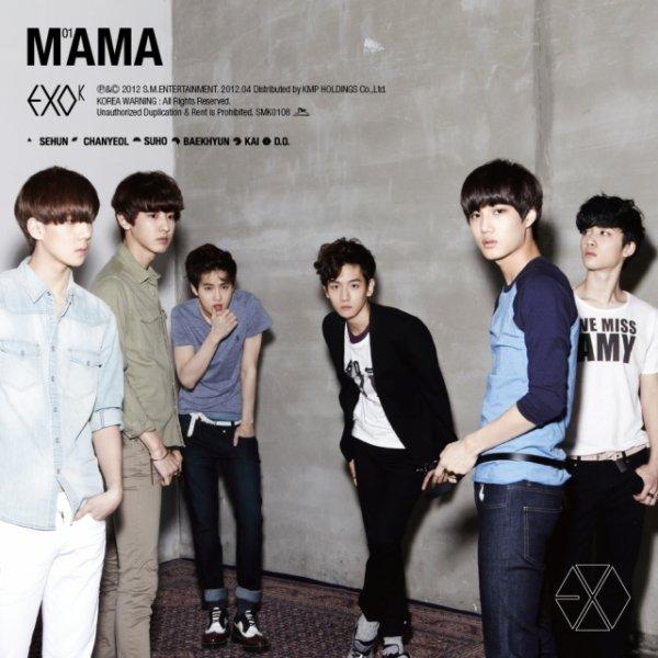 (CD) MAMA [EXO-K] ♥