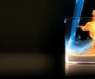 Parabole : l'eau et le feu