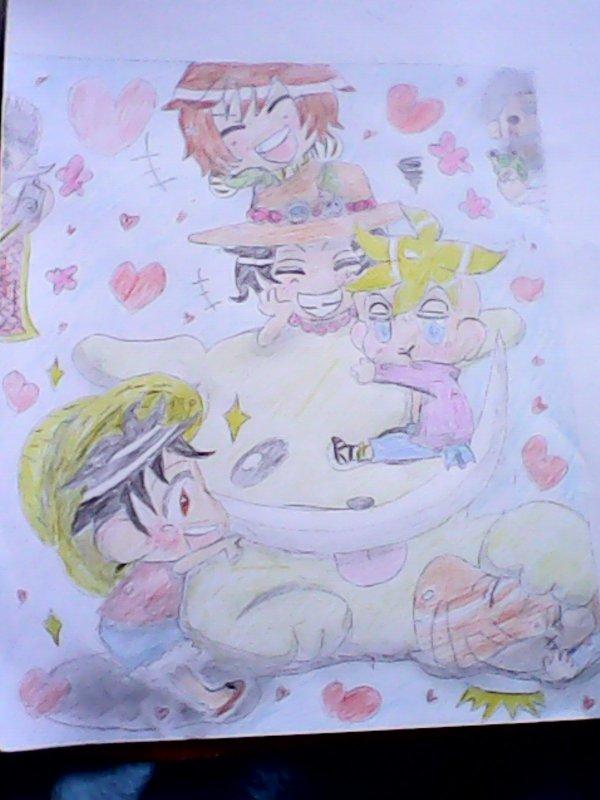 voici un dessin de carine ^^