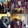 Justin Bieber au centre commercial à Doubai