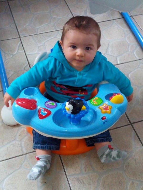 notre petit fils thimeo 7 mois aujourd hui