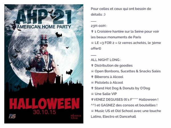 AHP 21 American Home Party - Halloween