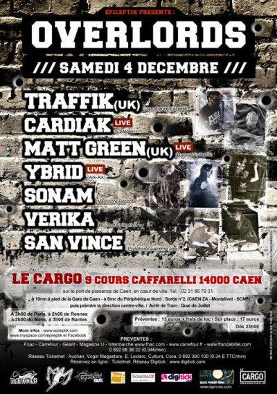 Soirée epileptik à Caen 04/12/2010