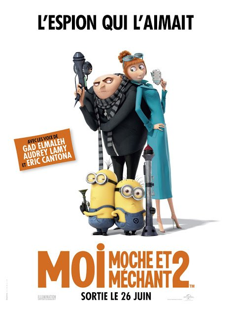 Cinéma : Moi moche et méchant 2. Quelques avis. :-)