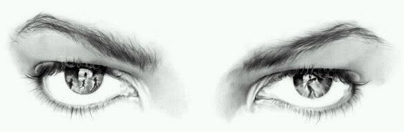 Michael Jackson's eyes !