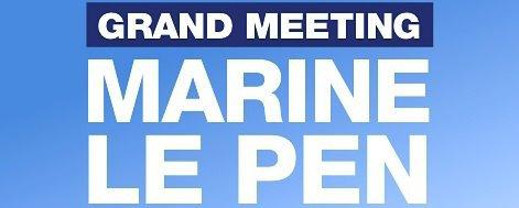 PROCHAINS MEETING MARINE LE PEN :