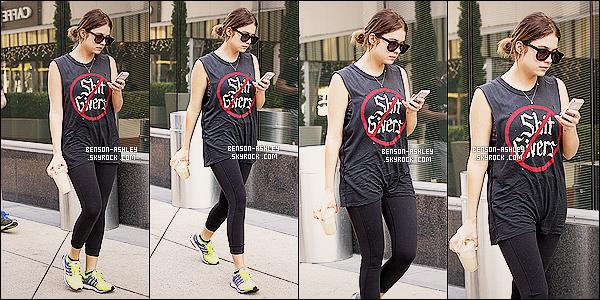 * 02/01/14 : Ashley  a été aperçue   tranquille quittant une nouvelle fois son cours de   GYM dans West Hollywood.   Ashley n'a pas fait d'effort vestimentaires même si elle va faire son sport elle pourrait quand même faire un petit effort pour être  mieux ! *