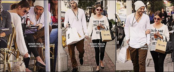 * 23/01/14 : Ashley  a été aperçu  avec Ryan Good se rendant dans un restaurant le   Toast    dans  West Hollywood.  Ashley est vraiment jolie j'aime beaucoup son haut puis malgré tout sa tenue est assez jolie donc pour moi sa vaut bien un jolie TOP   ! *
