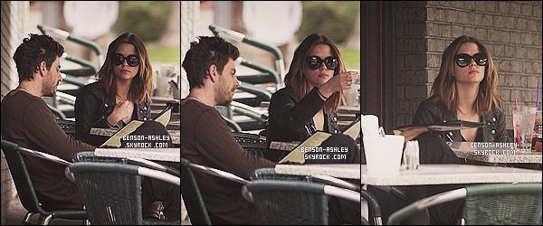 * 30/01/14 : Ashley  a été aperçu  avec Ryan Good en direction d'un restaurant   en pleins dans     West Hollywood.  J'aime bien la tenue que Ashley porte. Son sac casse un peu le look trop foncé donc sa approte de le joie, je trouve. C'est un TOP     ! *
