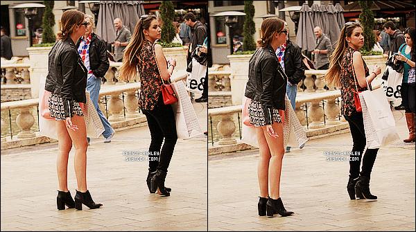 * 18/02/14 : Ashley a été aperçu en pleins shooping dans   The Groove  situer dans les rues de     West Hollywood.  J'aime beaucoup la tenue d'Ashley sa lui va a ravir c'est un peu coloré en plus alors c'est totalement parfait. J'aime beaucoup la jupe ! *