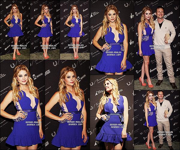 * 24/04/13 : Ashley  était présente a la cloture du     Riviera Maya Film Festival qui se sont déroulé au  Mexique.   Ashley  est parfaite, j'aime beaucoup sa tenue surtout cette jolie robe bleu avec des jolies chaussures en prime. Sa fait vraiment plaisir   ! *