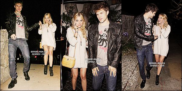 * 29/05/12 : Ashley a été aperçu accompagné se rendant au    Chateau Marmont  situer  dans West Hollywood.  Ashley était en compagnie de Keegan A. et Tyler B. deux de ses co-stars. En tout cas Ashley était vraiment magnifique, un beau TOP   ! *