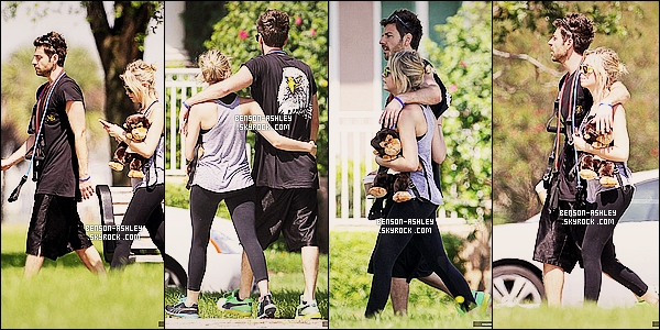 * 10/03/12 : Ashley a été aperçu avec Ryan Good en pleine séance de    sport  dans St. Petersburg en Floride.  Ashley était en présente dans cette ville pour le tournage du film Spring Breakers. Elle en a profité pour décompréssé du tournage  ! *