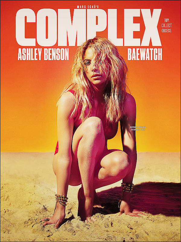 *    Ashley a réalisé un photoshoot pour le magazine « Complex » pour le mois de Juin 2014.  *