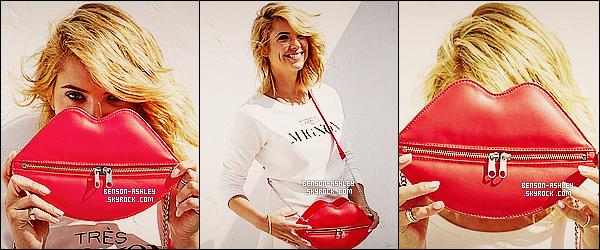 *    Ashley a réalisé un photoshoot pour la marque de « H&M » pour le mois de Juillet 2014.  *