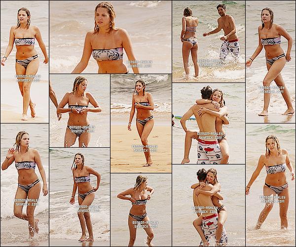 * 01/07/14 : Ashley a été aperçue en compagnie cette fois de    Ryan Good   son boyfriend  sur une plage d'Hawaii.  Nous avons un nouveaux maillot coloré  d'Ashley. Il est vraiment très jolie et lui va vraiment  bien, les deux sont tout mignons ensemble  ! *