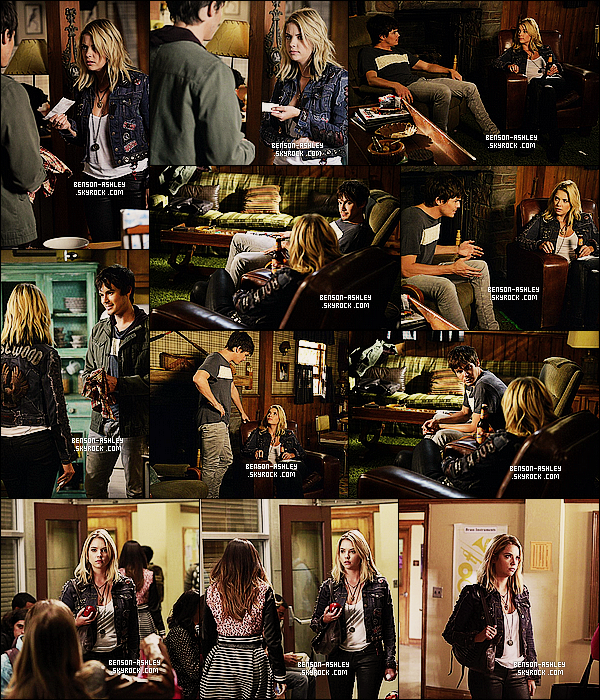 *    Découvrez les stills de l'épisode 05x09 «  March of Crimes » de   Pretty Little Liars.  *