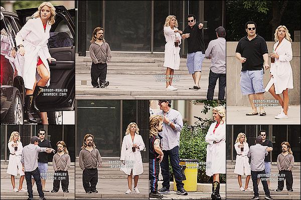 * 04/08/14 : Ashley a été aperçue  sur le tournage de son nouveau film    Pixels   qui se déroule a Toronto, Canada.  Ashley sera prochainement de retour sur grand ecran avec son rôle optenu dans ce  film de  Chris Columbus. Impatient de  voir ce film?   *