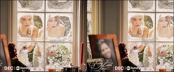 """*    Découvrez le premier still de l'épisode 05x13 « How The """"A"""" Stole Christmas » de   PLL.  *"""