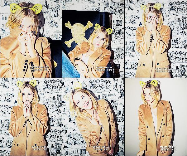 *    Ashley a réalisé un photoshoot pour le  site américain « The Coveteur » remplis de couleur.  *