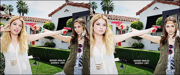 * 13/04/13 : Ashley a été aperçue avec Troian B.  lors de l'évenement organisé par    GUESS  au festival  Coachella.  Ashley est vraiment  jolie pour l'évenement puis elle a mit de la couleur ce qui fait encore  plaisir et nous avons un sourire. C'est un top    ! *