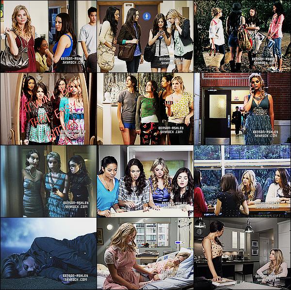 *    Résumer des photos promotionnelles et stills de la   première saison de   Pretty Little Liars.  *