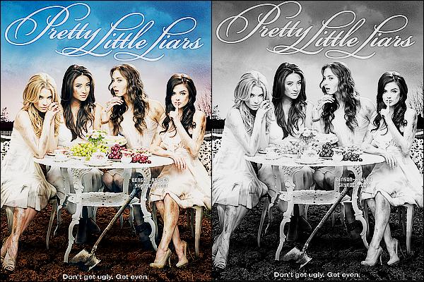 *    Résumer des photos promotionnelles et stills de la   deuxième saison de   Pretty Little Liars.  *