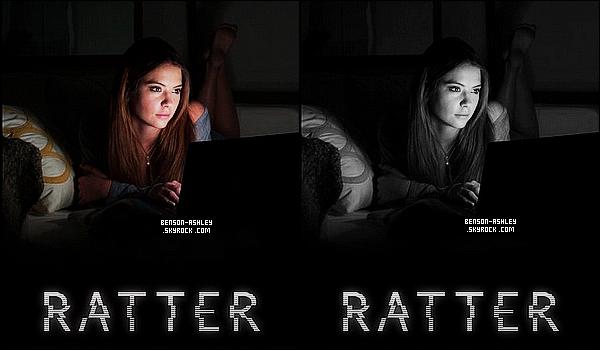 *    Découvrez l'affiche promotionnelle pour le nouveau  film « Ratter » ou Ashley y apparait.  *