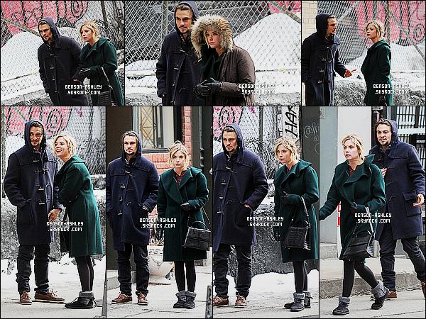 * 23/02/15 : Ashley a été aperçu sur le tournage du film    Chronically Metropolita  qui se déroule à   New York. Ashley a été sur le tournage de son nouveau film en compagnie de sa co-star Shiloh Fernandez  qui devrait sortir dans le courant 2015 ! *