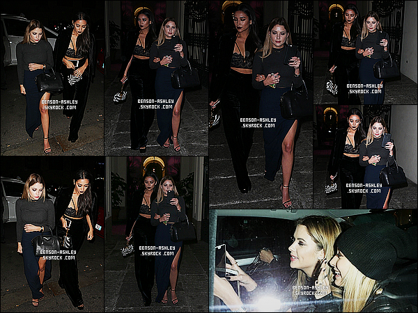 * 24/10/15 : Ashley a été aperçu en compagnie de Shay et Hailey a la sortie de leurs  hotel    qui est situe dans  Milan. J'aime bien la tenue d'Ashley et en particulier cette jupe fendu sur le côté c'est magnifique avec un jolie bleu c'est impeccable, un TOP  ! *