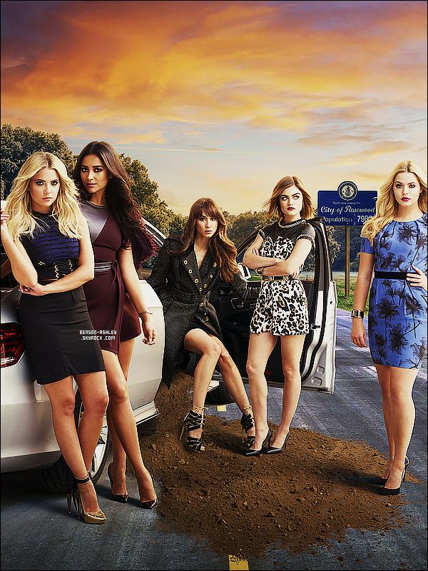 *    Découvrez  une affiche promo de la seconde partie de la saison 6  de   Pretty Little Liars.  *