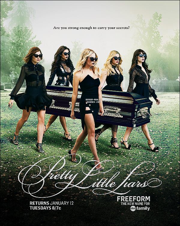 *    Découvrez  de nouvelles photos promotionnelles pour la saison 6  de   Pretty Little Liars.  *