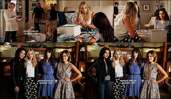 *    Découvrez  des stills de l'épisode 06x12 « Charlotte's Web » de   PLL + une  photo promo.   *
