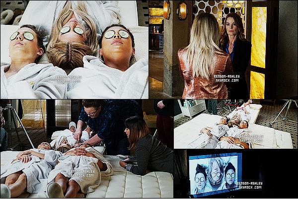 *    Découvrez  des stills de l'épisode 06x13 « The Gloves Are On » de   Pretty Little Liars.   *