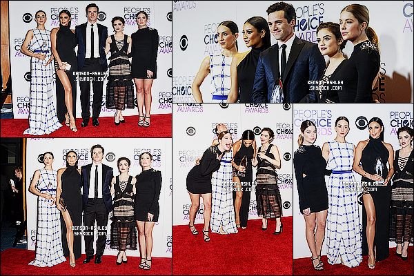 * 06/01/16 : Ashley était présente lors des    People's Choice Awards 16  qui se sont déroulé dans  Los Angeles.  Ashley portait encore une fois du noir mais j'aime bien cette robe qui est très classe et élégante, elle lui va très bien donc c'est un TOP ! *