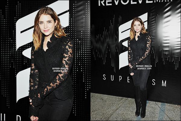 * 21/01/16 : Ashley a été aperçu lorsqu'elle se rendait dans   un  Restoration Hardware   situé dans  Los Angeles.  Ashley avait  une tenue avec du noire mais egalement un jolie jean et un haut coloré qui semble être pas mal. C'est  donc un jolie - TOP ! *