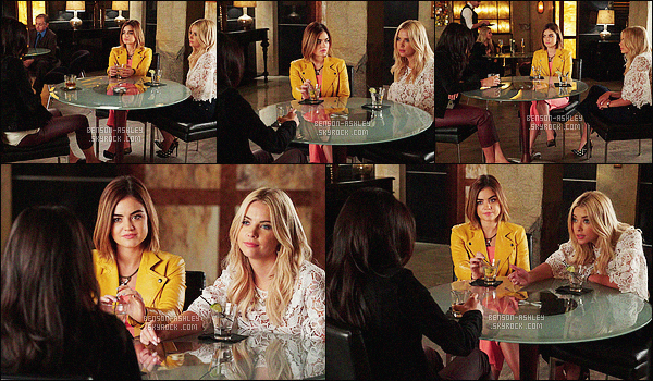 *    Découvrez  des stills de l'épisode 06x16 « Where Somebody Waits For Me » de   PLL.   *