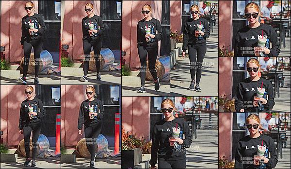 * 08/02/16 : Ashley a été aperçu au moment où elle quittait son cours de      GYM     qui se situe  à - West Hollywood.   Après son cours, Ashley est partie ce chercher une petite boisson. Sa tenue est toute noire mais ça va c'est plutôt bien   - un petit TOP    ! *