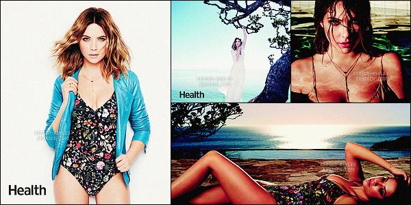 *    Ashley a réalisé quelques photos lors d'un  photoshoot pour le célèbre magazine     Health.  *
