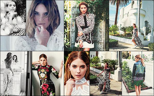 *    Ashley a participé a un magnifique photoshoot pour le célèbre magazine     Marie Claire.  *