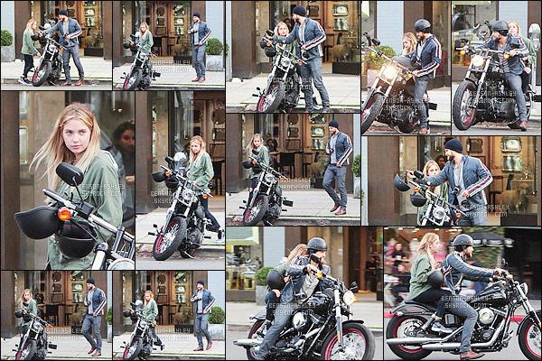 * 03/03/16 : Ashley a été aperçu  faire de la moto avec sa co-star      Keegan Allen      dans les rues de - Los Angeles.  Ashley a mis une  tenue d'une simplicité et pas forcément hyper jolie mais disons qu'elle va plutôt bien et elle semble fatigué -   c'est BOF    ! *