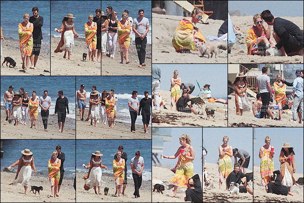 * 05/06/16 : Ashley a été aperçu accompagné de quelques un de ses amis sur une      plage    qui est  situé à     -     Malibu.  Parmis les amis d'Ashley on retrouve  Ryan G. et sa co-star de S. Breakers, Vanessa Hugens. Nous ne voyons pas la maillot - dommage       ! *