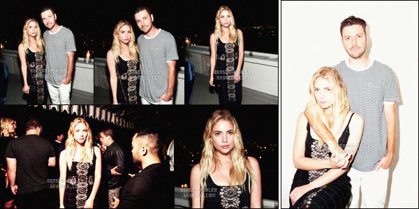 * 28/06/16 : Ashley était  au     GQ Celebrates 10th Annual Love Sex  and Madness Issue        dans         Los Angeles.  Ashley était accompagné de son ami Ryan. Elle portait une robe noire qui n'est pas dans mes gouts mais ça lui va -  donc un petit TOP    ! *