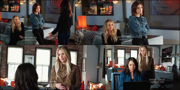 *    Découvrez  des stills de l'épisode 07x04 « Hit and Run, Run, Run » de   Pretty Little Liars.   *