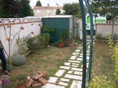 création d'un jardin à Tonnay-Charente