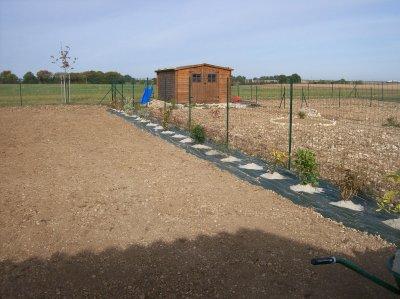 création d'un jardin à Saint Coutant Le Grand