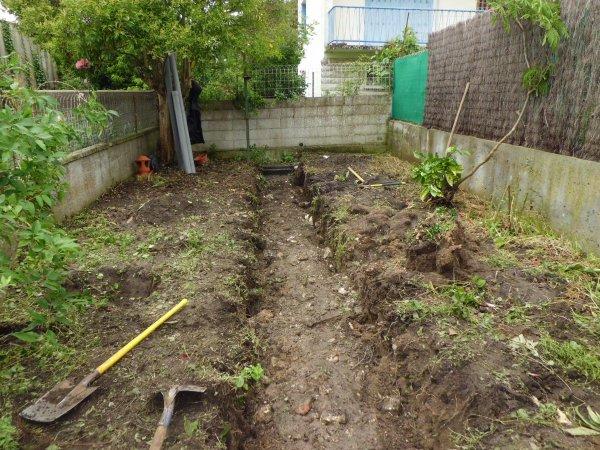 aménagement d'un jardin de ville à Rochefort