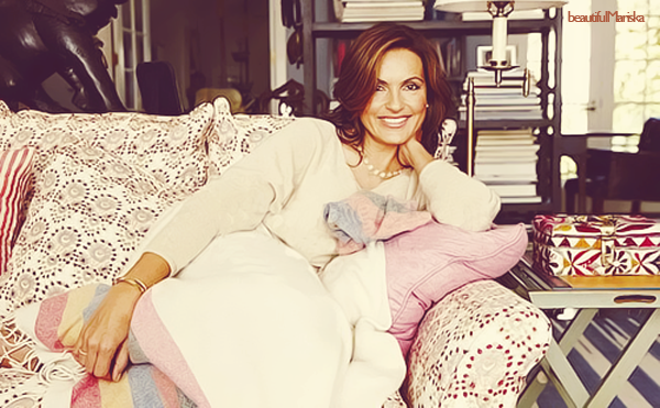 Mariska pour Joyful Heart Foundation